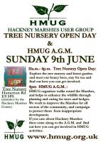 Hackney Marshes User Group Open Day & AGM poster