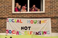 Focus E15 Open House occupation on the Carpenters Estate